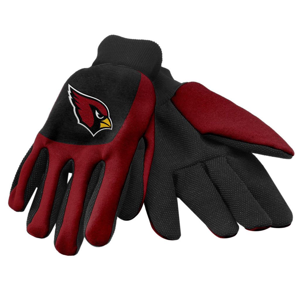 Arizona Cardinals Color Block Utility Gloves