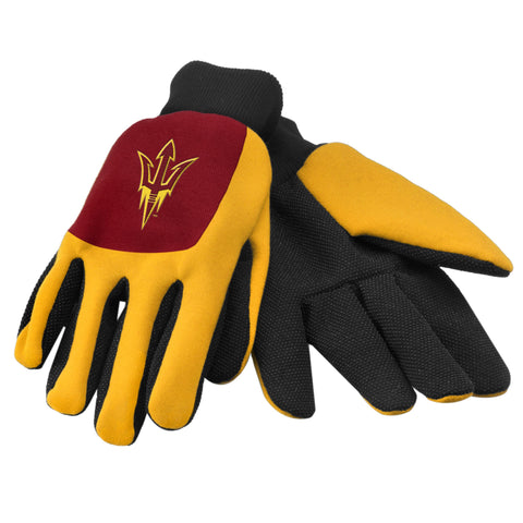 Arizona State Sun Devils Color Block Utility Gloves