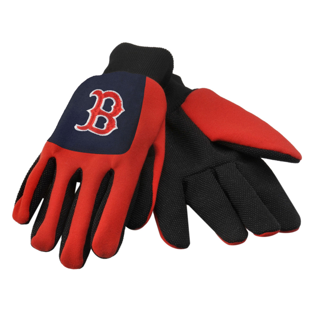 Boston Red Sox Color Block Utility Gloves