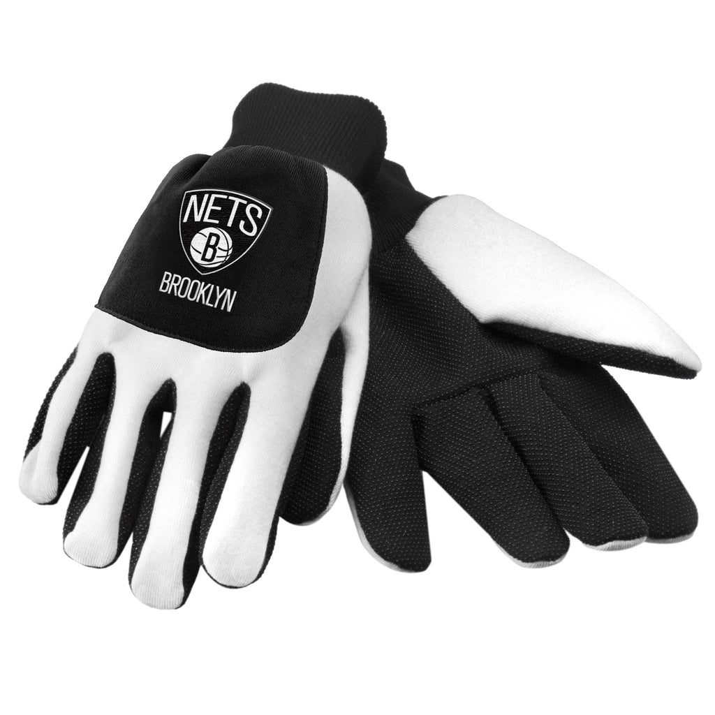 Brooklyn Nets Color Block Utility Gloves