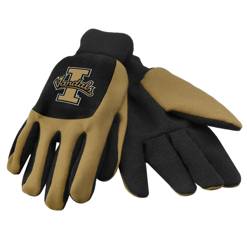 Idaho Vandals Color Block Utility Gloves
