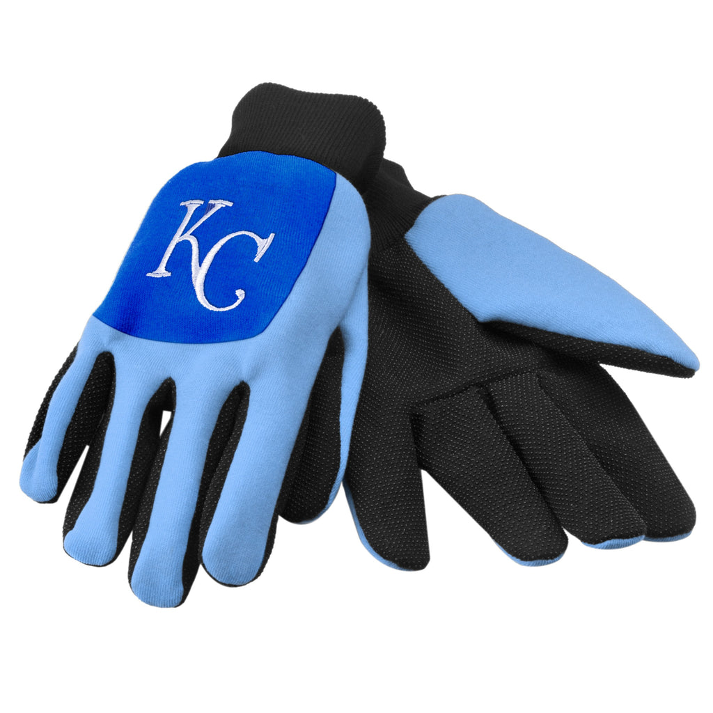 Kansas City Royals Color Block Utility Gloves