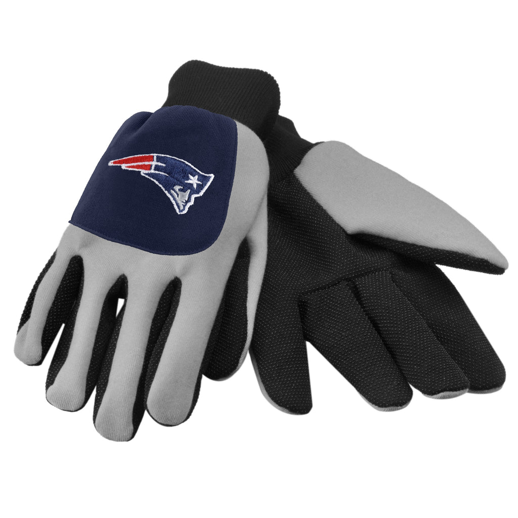 New England Patriots Color Block Utility Gloves