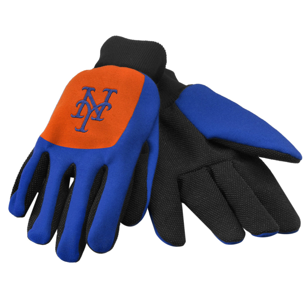 New York Mets Color Block Utility Gloves