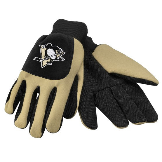 Pittsburgh Penguins Color Block Utility Gloves