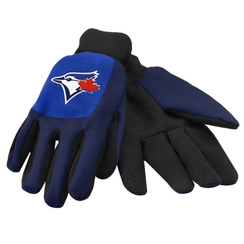 Toronto Blue Jays Color Block Utility Gloves
