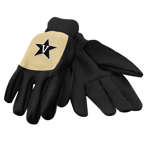 Vanderbilt University Color Block Utility Gloves
