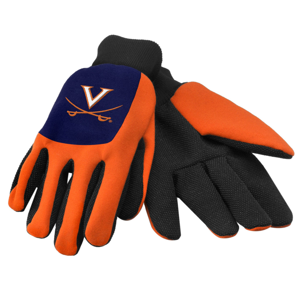 Virginia Cavaliers Color Block Utility Gloves