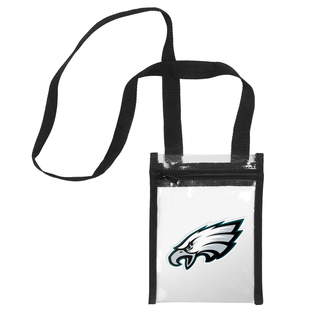 Philadelphia Eagles Clear Crossbody Tote Bag