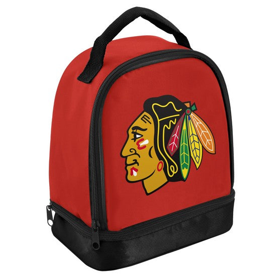 Chicago Blackhawks Compartment Lunch Bag