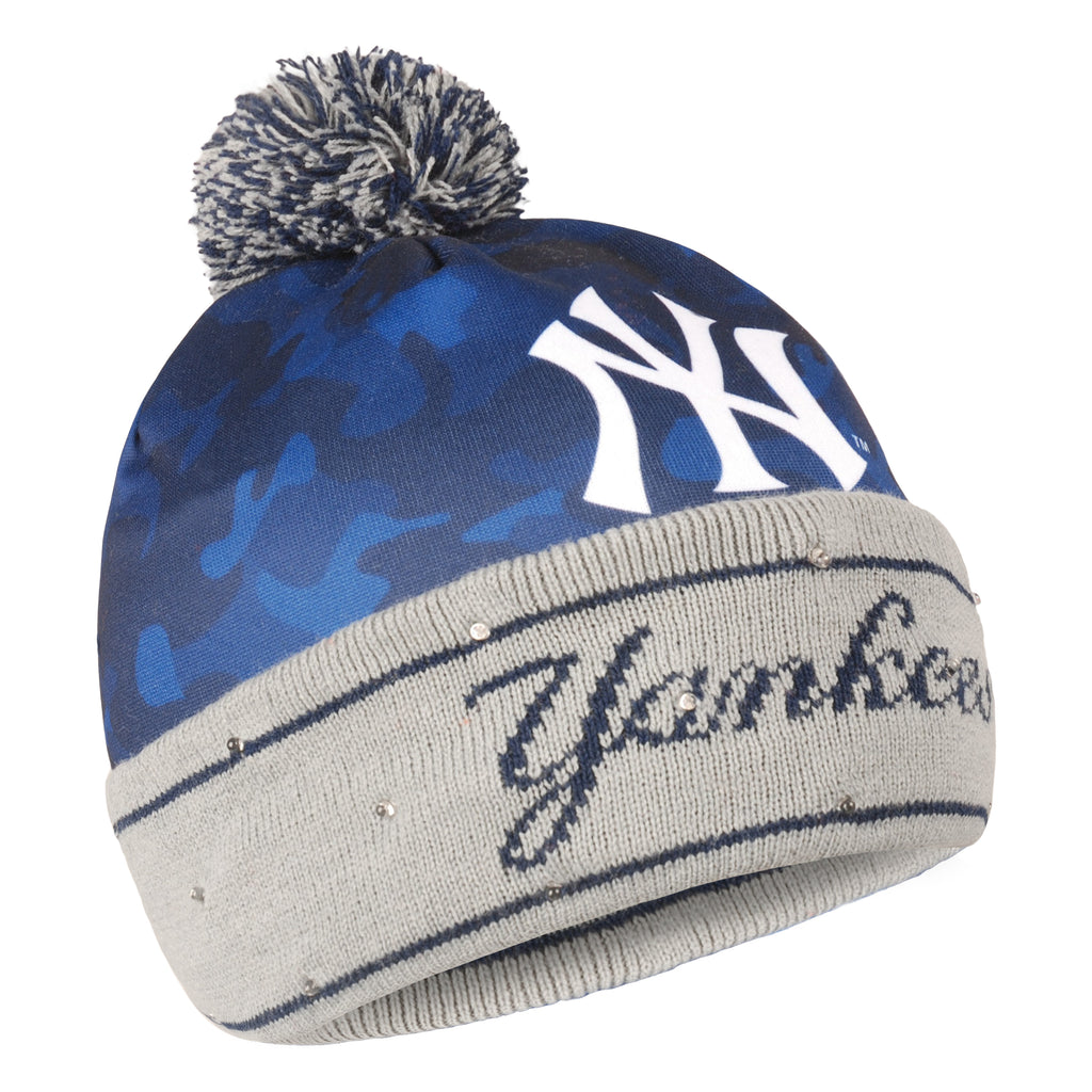 New York Yankees Camouflage Light Up Knit Beanie