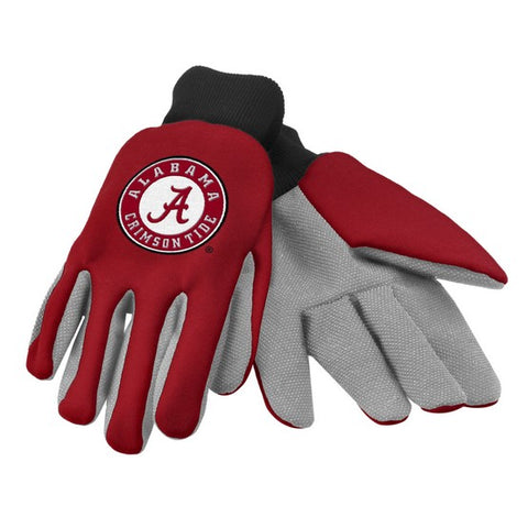 Alabama Crimson Tide Colored Palm Glove