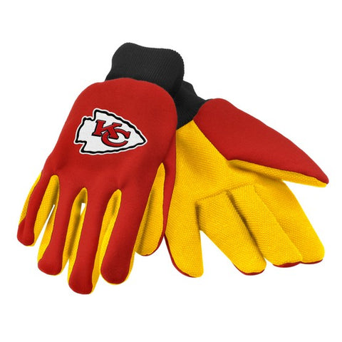 Kansas City Chiefs Colored Palm Glove