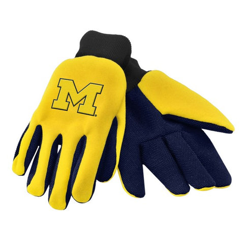 Michigan Wolverines Colored Palm Glove