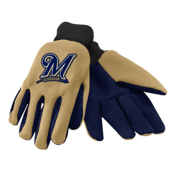 Milwaukee Brewers Colored Palm Glove