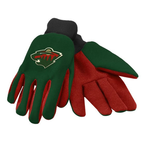Minnesota Wild Colored Palm Glove