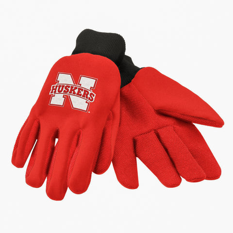 Nebraska Cornhuskers Colored Palm Glove