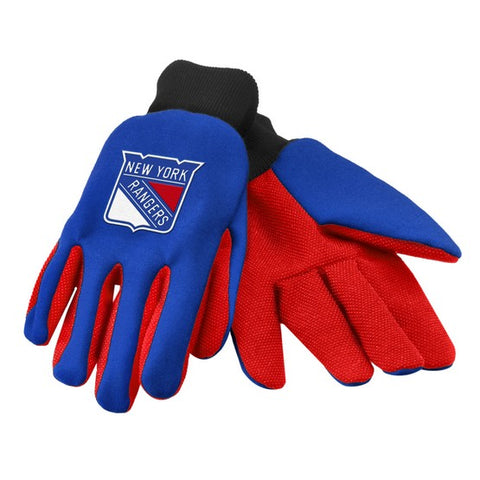 New York Rangers Colored Palm Glove