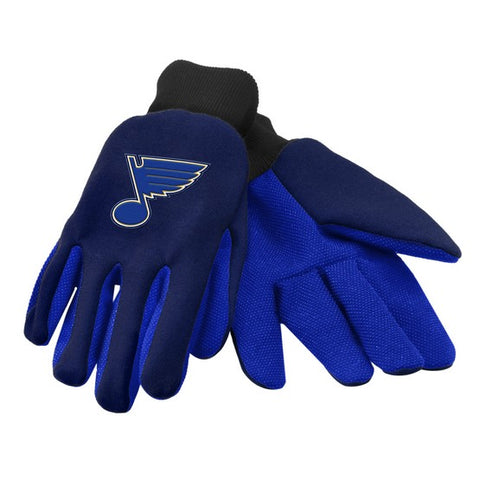 St. Louis Blues Colored Palm Glove