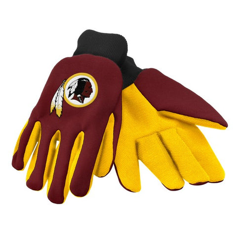 Washington Redskins Colored Palm Glove