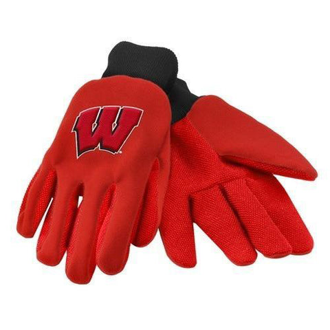 Wisconsin Badgers Colored Palm Glove