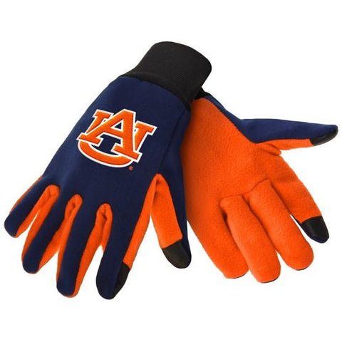 Auburn Tigers Color Texting Gloves