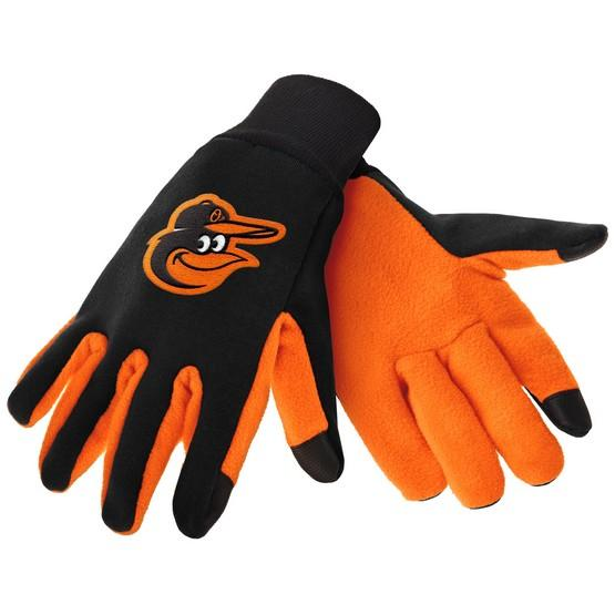 Baltimore Orioles Color Texting Gloves