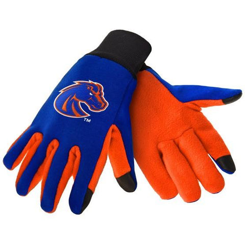 Boise State Broncos Color Texting Gloves