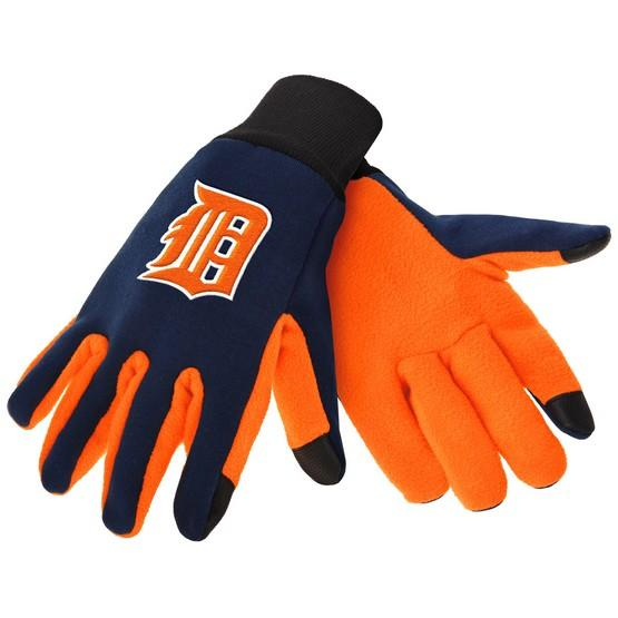 Detroit Tigers Color Texting Gloves