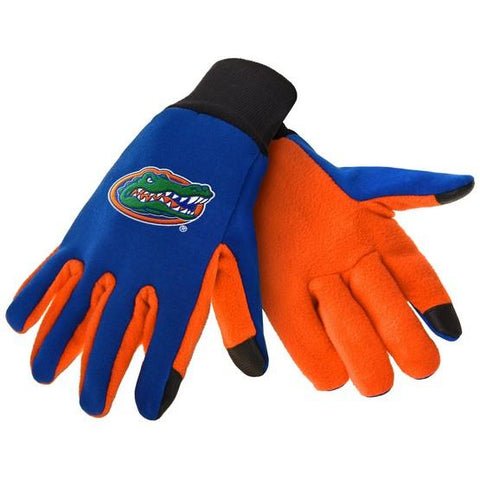 Florida Gators Color Texting Gloves