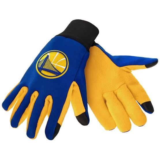 Golden State Warriors Color Texting Gloves