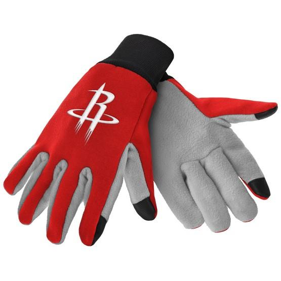 Houston Rockets Color Texting Gloves