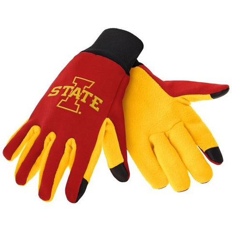 Iowa State Cyclones Color Texting Gloves