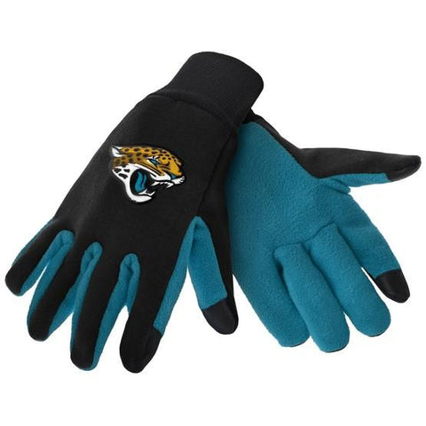 Jacksonville Jaguars Color Texting Gloves