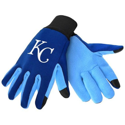 Kansas City Royals Color Texting Gloves