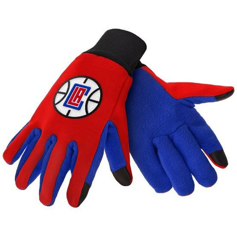 Los Angeles Clippers Color Texting Gloves