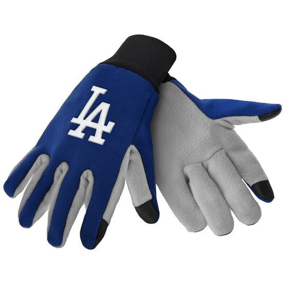 Los Angeles Dodgers Color Texting Gloves