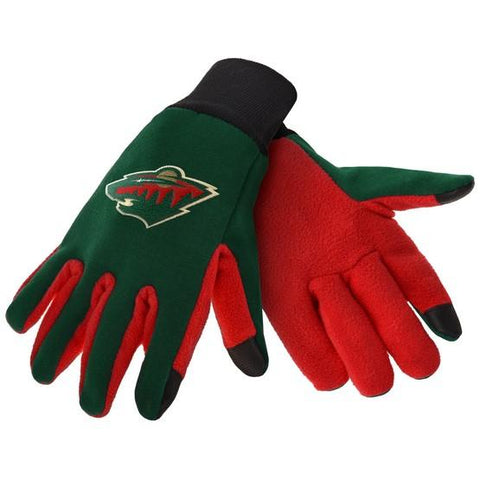 Minnesota Wild Color Texting Gloves