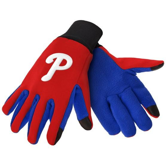 Philadelphia Phillies Color Texting Gloves