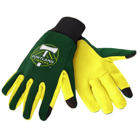 Portland Timbers Color Texting Gloves