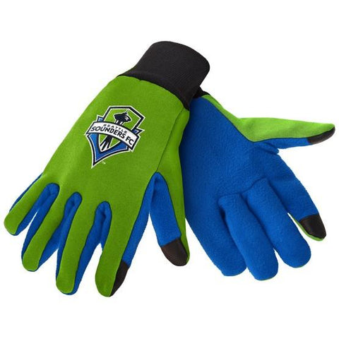 Seattle Sounders Color Texting Gloves