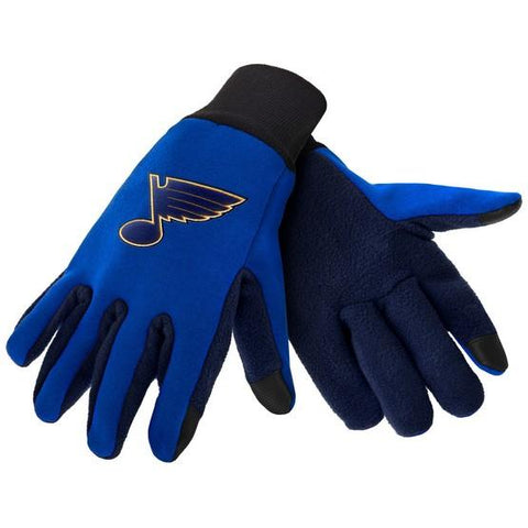 St. Louis Blues Color Texting Gloves