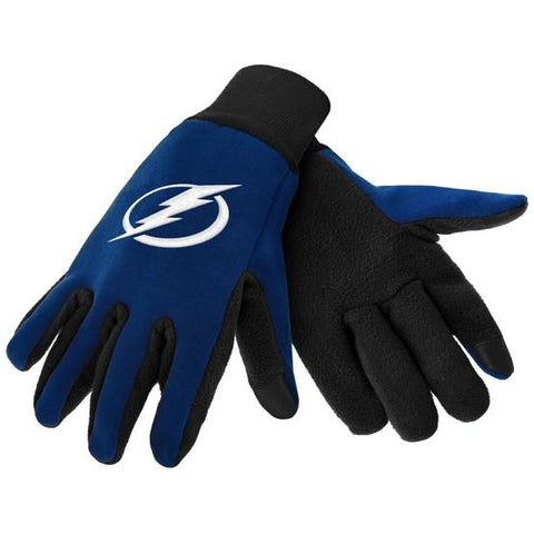 Tampa Bay Lightning Color Texting Gloves