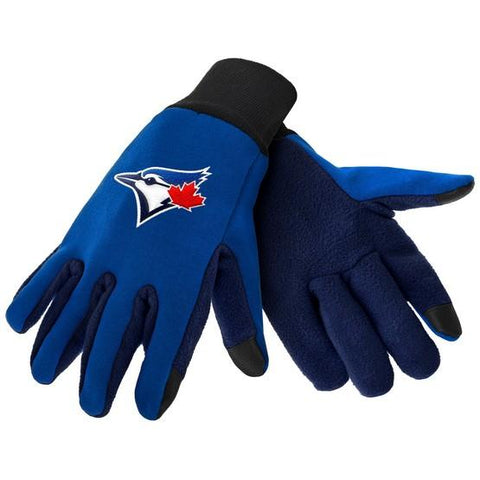 Toronto Blue Jays Color Texting Gloves