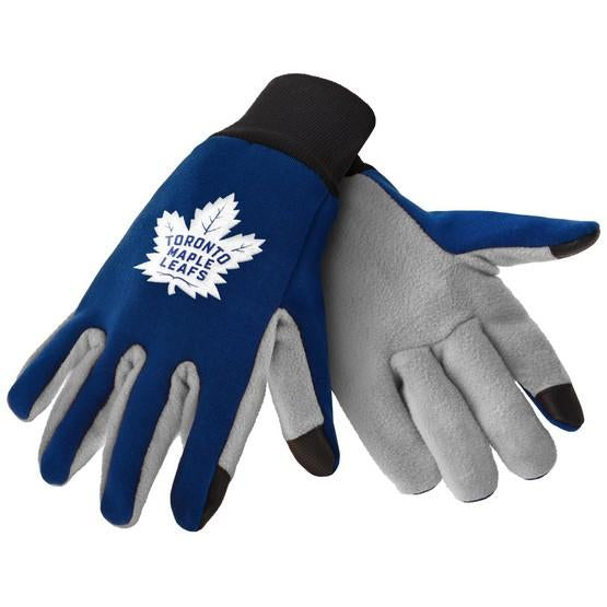 Toronto Maple Leafs Color Texting Gloves