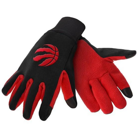 Toronto Raptors Color Texting Gloves