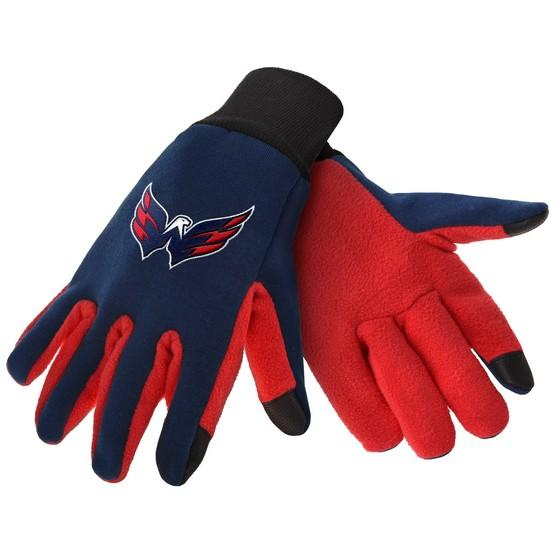 Washington Capitals Color Texting Gloves