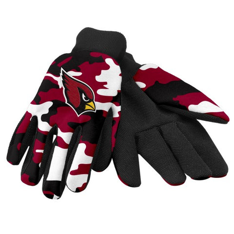 Arizona Cardinals Camo Utility Gloves