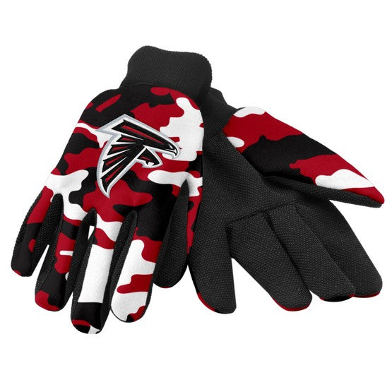 Atlanta Falcons Camo Utility Gloves