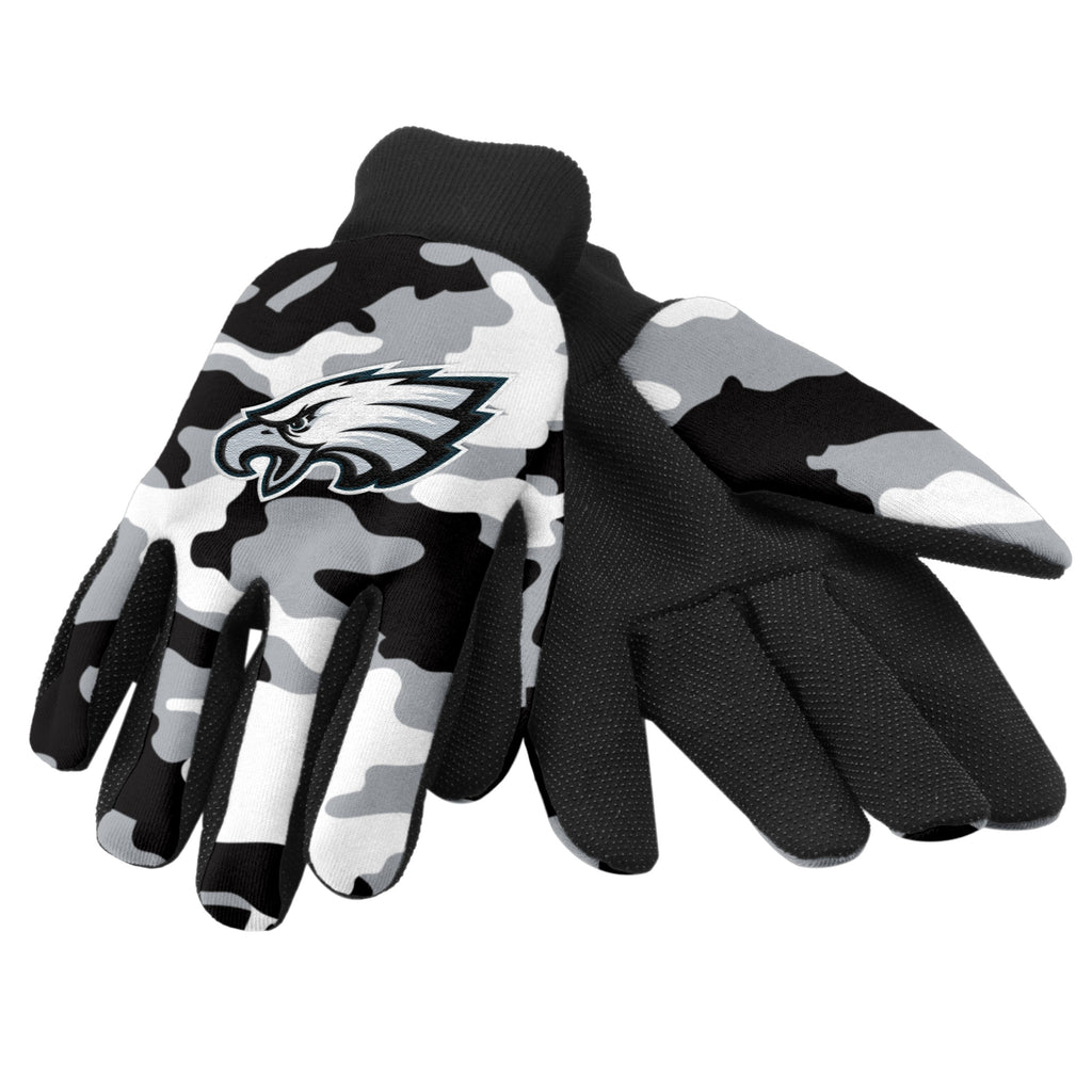 Philadelphia Eagles Camo Utility Gloves